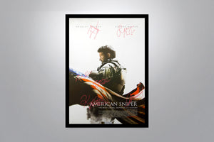 American Sniper - Signed Poster + COA