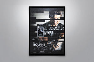 THE BOURNE LEGACY - Signed Poster + COA