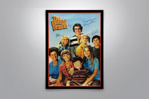 The Brady Bunch - Signed Poster + COA