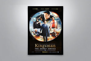 KINGSMAN: The Secret Service - Signed Poster + COA