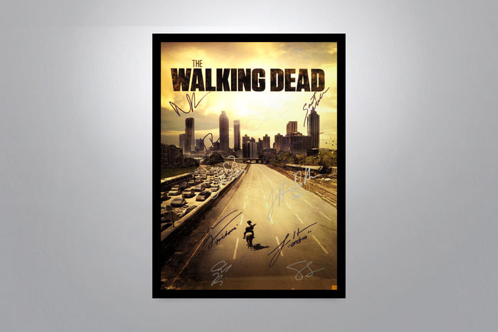 WALKING DEAD - Autographed Movie Poster