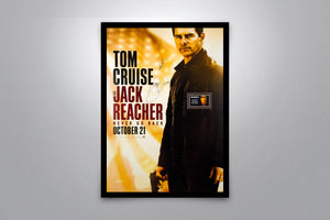 JACK REACHER: Never Go Back - Signed Poster + COA