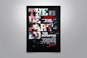 THE DEPARTED - Signed Poster + COA