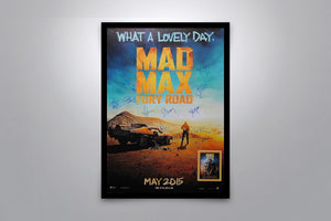 MAD MAX: FURY ROAD - Signed Poster + COA