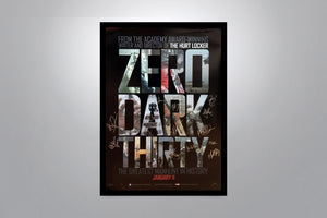 ZERO DARK THIRTY - Signed Poster + COA
