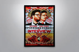 THE INTERVIEW - Signed Poster + COA