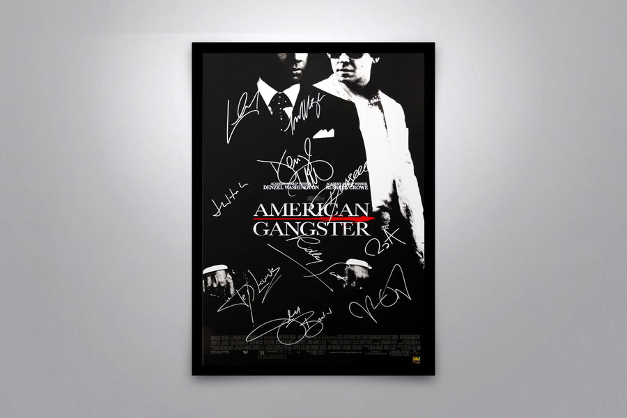 American Gangster - Signed Poster + COA