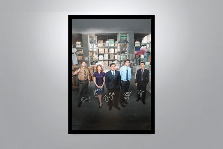 THE OFFICE - Autographed TV Series Poster