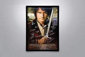 THE HOBBIT: An Unexpected Journey - Signed Poster + COA