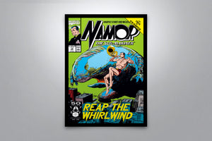 Namor: The Sub-Mariner - Signed Poster + COA