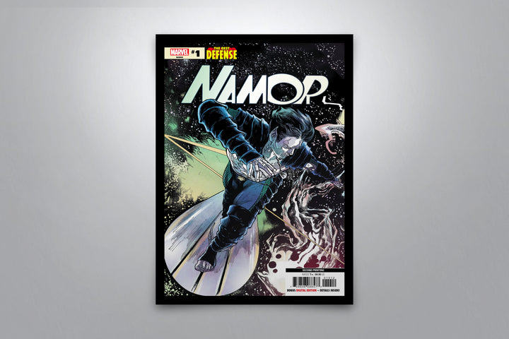 Namor: The Best Defense - Signed Poster + COA