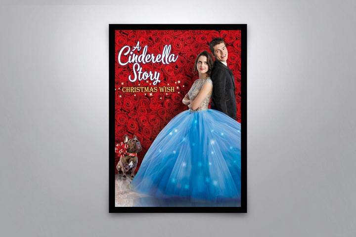 A Cinderella Story: Christmas Wish - Signed Poster + COA