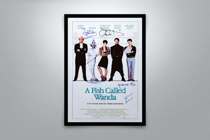 A Fish Called Wanda - Signed Poster + COA