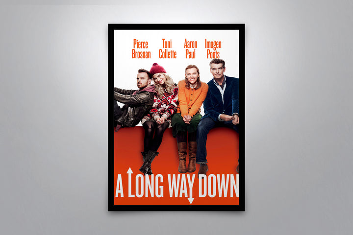 A Long Way Down - Signed Poster + COA