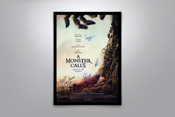 A Monster Calls - Signed Poster + COA