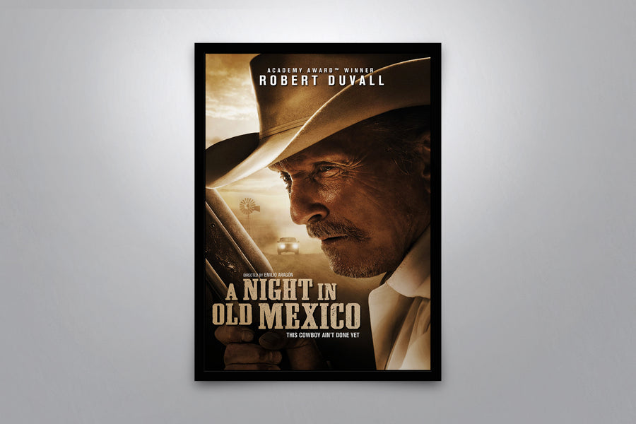 A Night in Old Mexico - Signed Poster + COA