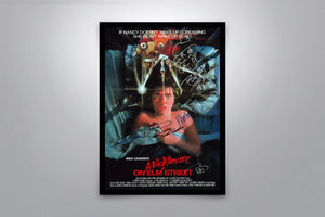 A Nightmare on Elm Street - Signed Poster + COA