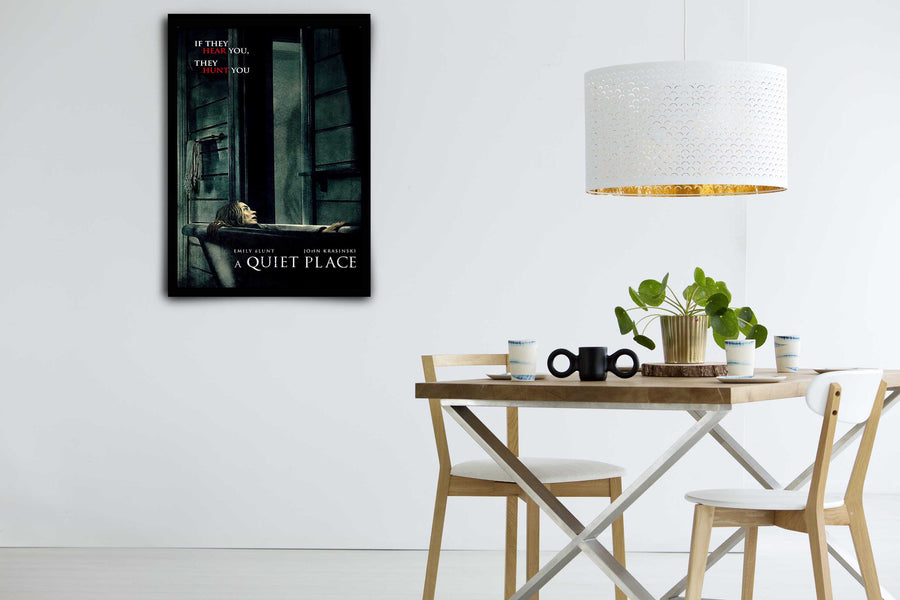 A Quiet Place - Signed Poster + COA