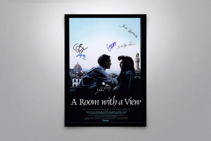 A Room with a View - Signed Poster + COA