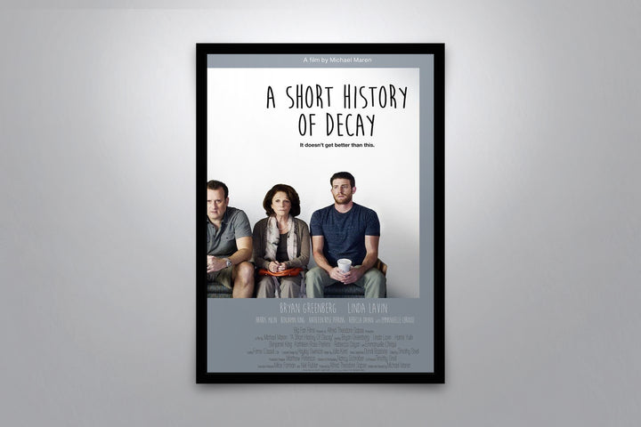A Short History of Decay - Signed Poster + COA