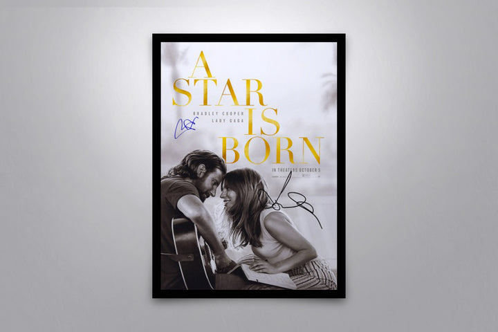 A Star Is Born - Signed Poster + COA