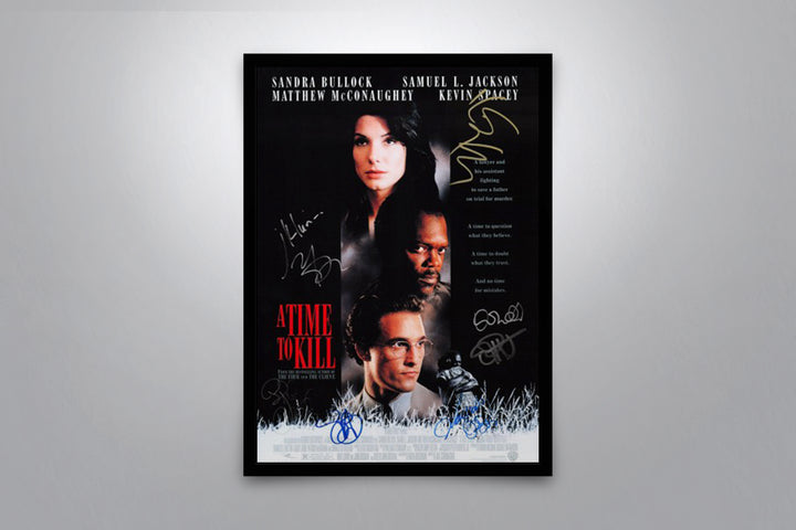 A Time To Kill - Signed Poster + COA