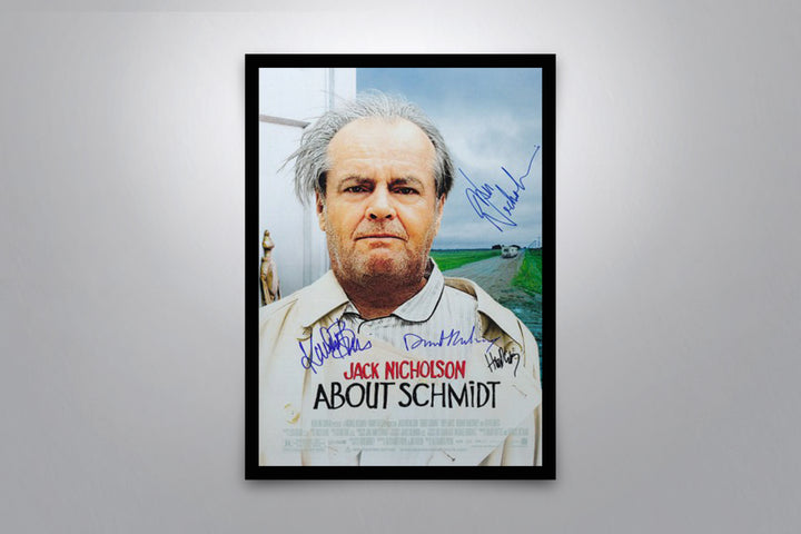 About Schmidt - Signed Poster + COA