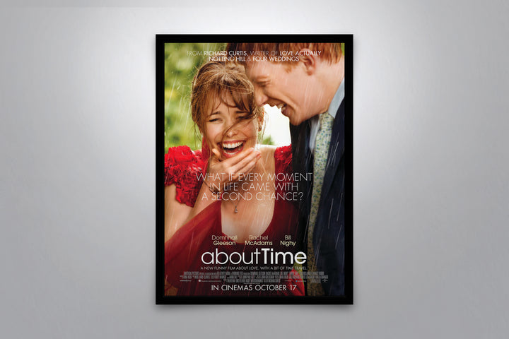 About Time - Signed Poster + COA