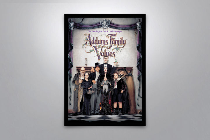 Addams Family Values - Signed Poster + COA