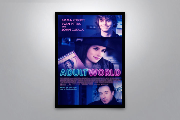 Adult World - Signed Poster + COA