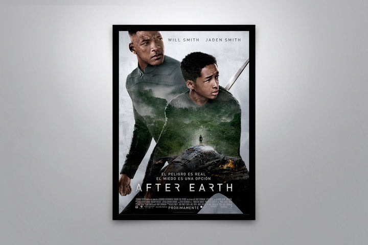 After Earth - Signed Poster + COA