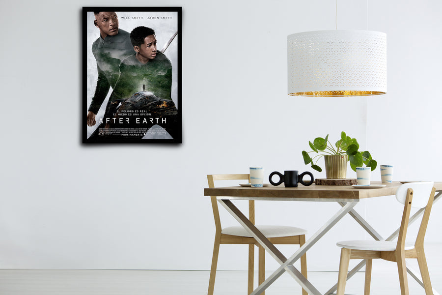 After Earth - Signed Poster + COA - Poster Memorabilia