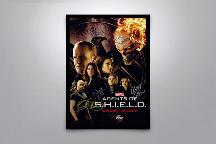 Agents of S.H.I.E.L.D. - Signed Poster + COA