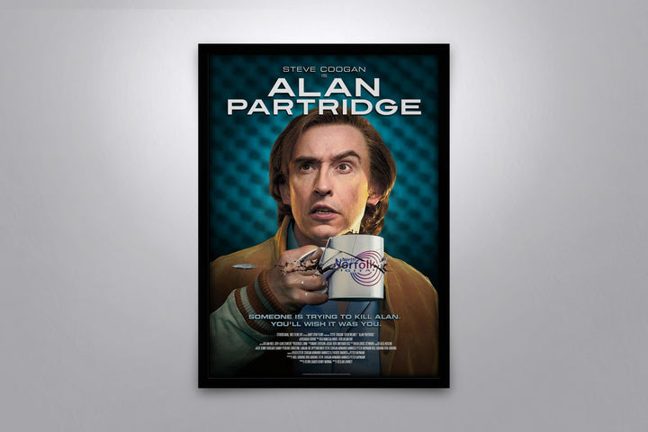Alan Partridge: Alpha Papa - Signed Poster + COA