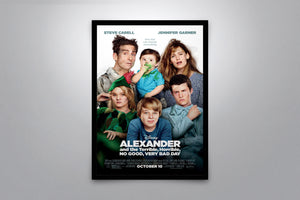Alexander and the Terrible, Horrible, No Good, Very Bad Day - Signed Poster + COA