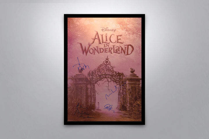 Alice in Wonderland - Signed Poster + COA