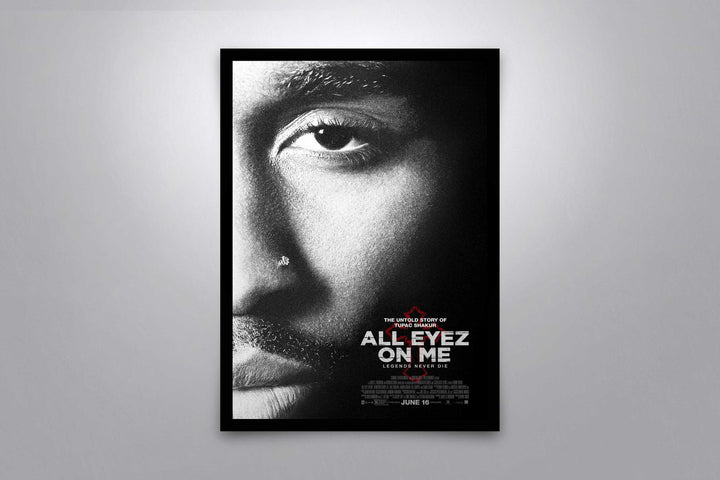 All Eyez on Me - Signed Poster + COA