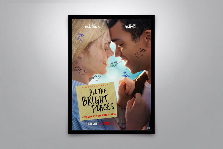 All the Bright Places - Signed Poster + COA