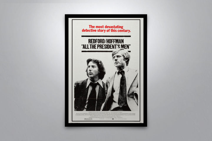 All The President's Men - Signed Poster + COA
