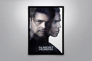 Almost Human - Signed Poster + COA