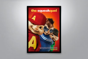 Alvin and the Chipmunks: The Squeakquel - Signed Poster + COA