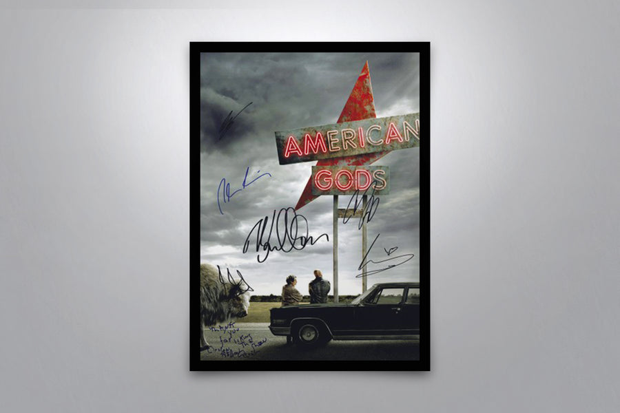 American Gods - Signed Poster + COA
