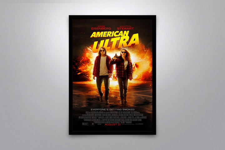 American Ultra - Signed Poster + COA
