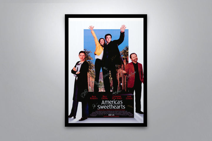 America's Sweetheart - Signed Poster + COA