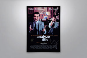 Analyze This - Signed Poster + COA