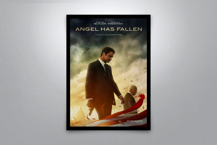 Angel Has Fallen - Signed Poster + COA