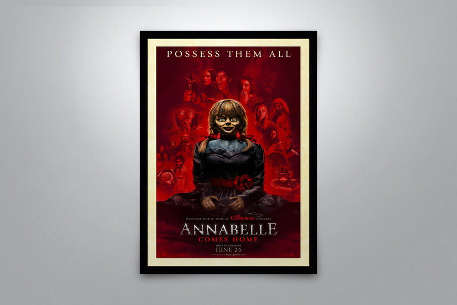 Annabelle Comes Home - Signed Poster + COA
