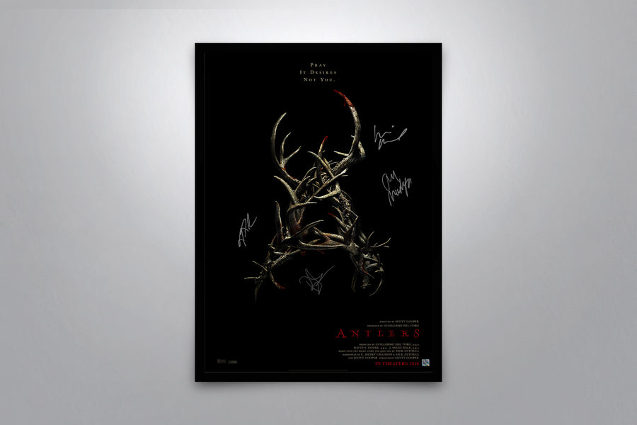Antlers - Signed Poster + COA