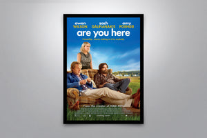 Are You Here - Signed Poster + COA