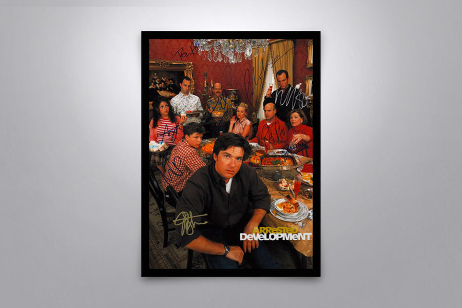 Arrested Development - Signed Poster + COA